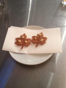 Crispy Parmesan Leaves